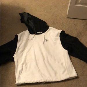 Drawcord Hem College Pullover